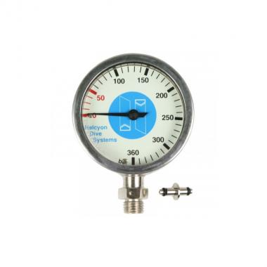 Master Submersible Pressure Gauge 63mm, 0-360 bar